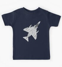 F4 Phantom Fighter Aircraft Kids Tee
