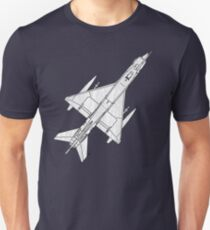 Fighter Aircraft MIG 21 T-Shirt