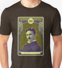 Nikola Tesla's Electric Mind Unisex T-Shirt