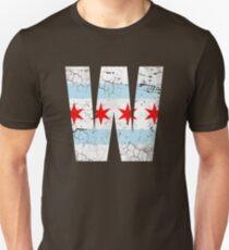 W Chicago Baseball Winning Flag Unisex T-Shirt