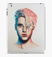 colored Justin  iPad Case/Skin