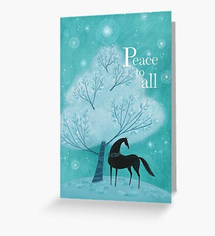 Lombo Dreams of Peace To All Greeting Card