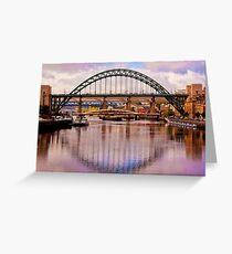 Newcastle Bridges Greeting Card