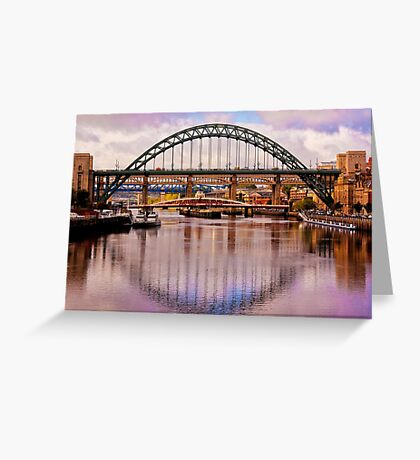 Newcastle Bridges Greeting Card