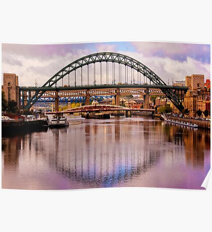 Newcastle Bridges Poster