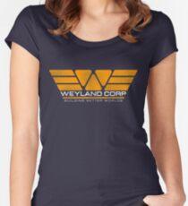 WEYLAND CORP - Building Better Worlds Women's Fitted Scoop T-Shirt