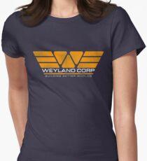 WEYLAND CORP - Building Better Worlds Women's Fitted T-Shirt