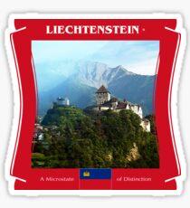 Liechtenstein - A Microstate Of Distinction Sticker