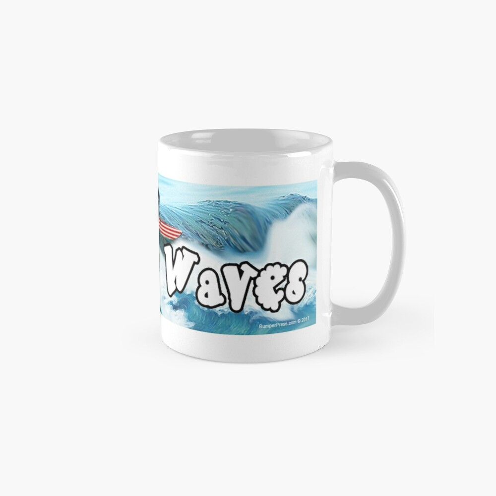 Trump Surfing - Freedom Waves Standard Mug