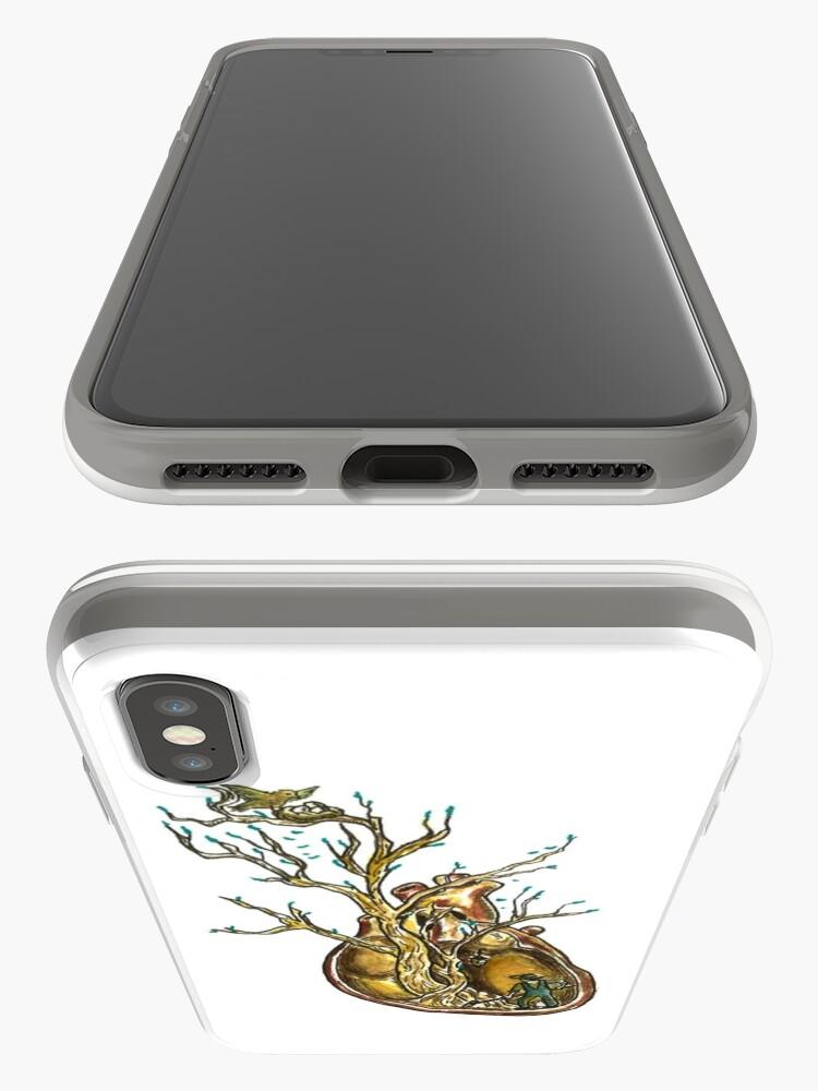 Vista alternativa de Funda y vinilo para iPhone Love Roots