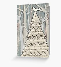 Christmas in the Wood Greeting Card