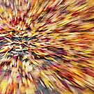 Abstract Leaves 1 by Rebecca Cozart