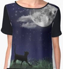 Cat and the Moon 1/6 Chiffon Top