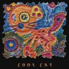 STEAMPUNK ART - COOL CAT  by Nicola Furlong