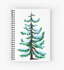 Painted Tree Spiral Notebook