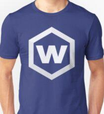 White Hex Slim Fit T-Shirt