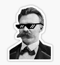 Thug Nietzsche Sticker