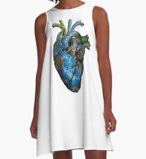 Corazón Errante Vestido acampanado