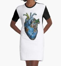 Corazón Errante Vestido camiseta