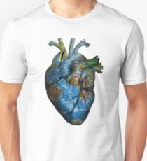 Corazón Errante Camiseta unisex