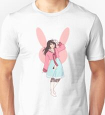 Hana Song in a Hanbok Unisex T-Shirt