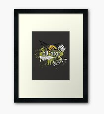 All Star Framed Print