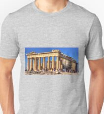 Temple of the Goddess Athena Unisex T-Shirt