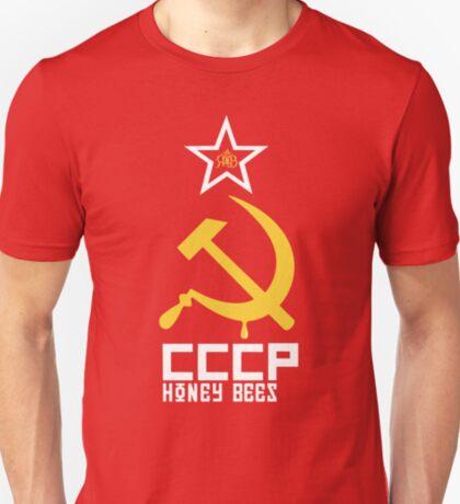 CCCP Honey Bees / Russian Honey Bees T-Shirt