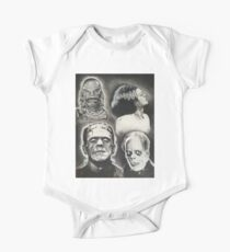 Classic Universal Monsters One Piece - Short Sleeve