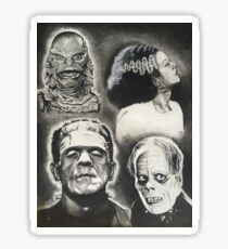 Classic Universal Monsters Sticker