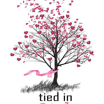 Tied in Pink Anthology merchandise Tee Shirts by ScribeScarlett