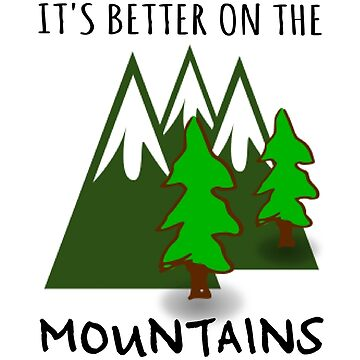 Mountain Beautiful Inspirational Nature Quote by WordWorld