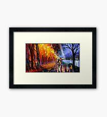 Charmanders Alley Framed Print