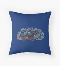 Knight Rider Throw Pillow