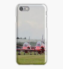 Red Arrows Taxi iPhone Case/Skin