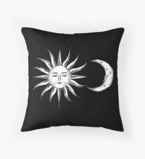 Bohemian Sun & Moon Throw Pillow