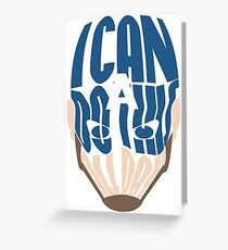I Can Do This All Day Word Art Greeting Card