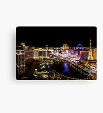 Las Vegas at Night Canvas Print