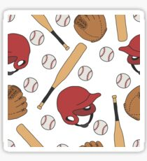 baseball pattern Sticker