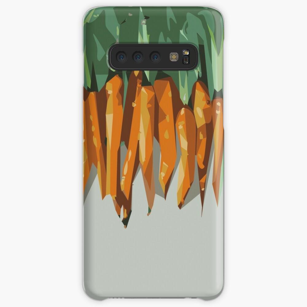 Carrots Hülle & Klebefolie für Samsung Galaxy