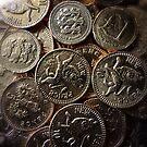 Choc Coins for Christmas by Simon Duckworth