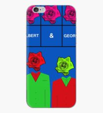 Gilbert & George, contemporary art iPhone Case