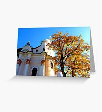 Wieskirche ~ UNESCO World Heritage Site Greeting Card