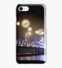Forth Road bridge 50th Birthday celebration, Edinburgh iPhone Case/Skin