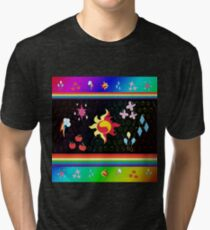 My Little Pony - Elements of Harmony Special V2 (Sunset Shimmer) Tri-blend T-Shirt