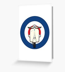 Scooter_2 Greeting Card