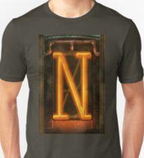 Steampunk - Alphabet - N is for Nixie Tube Unisex T-Shirt