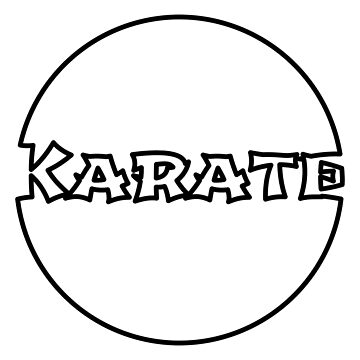 Karate Bubble by hasseroberto