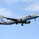 Flybe regional airline company Embraer 195 by Andrew Harker