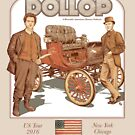 DOLLOP We Sign Cars (t-shirt) by James Fosdike